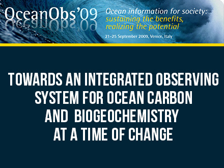 Towards an Integrated Observing System for Ocean Carbon and Biogeochemistry at a Time of Change